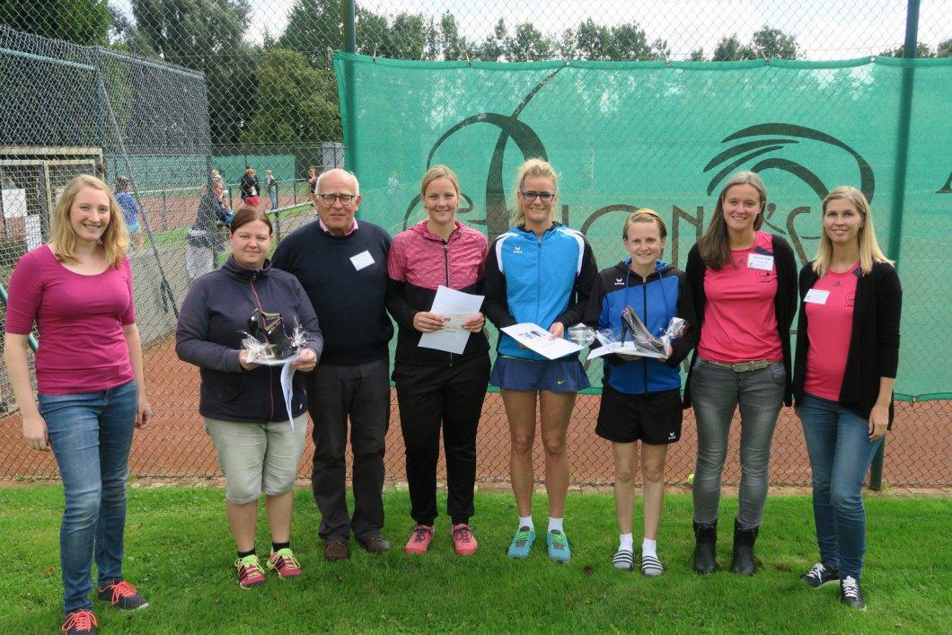 Siegerinnen des 4ten High-Heels-Cup © TCSN, Bild NW Paderborn