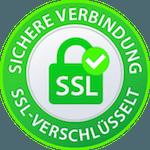 Ausstellende CA des SSL-Zertifikats: Letsencrypt, 2048 Bit Verschlüsselung, Kompatibel zu 99,9% aller Browser