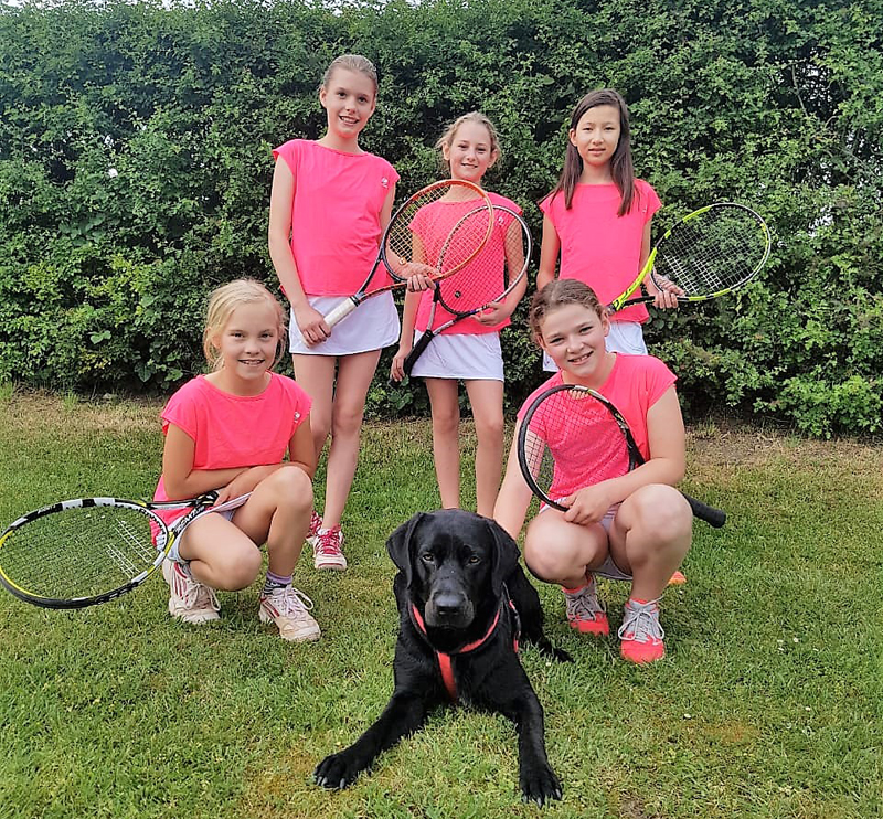 U12 Tennis Juniorinnen TCSN Paderborn